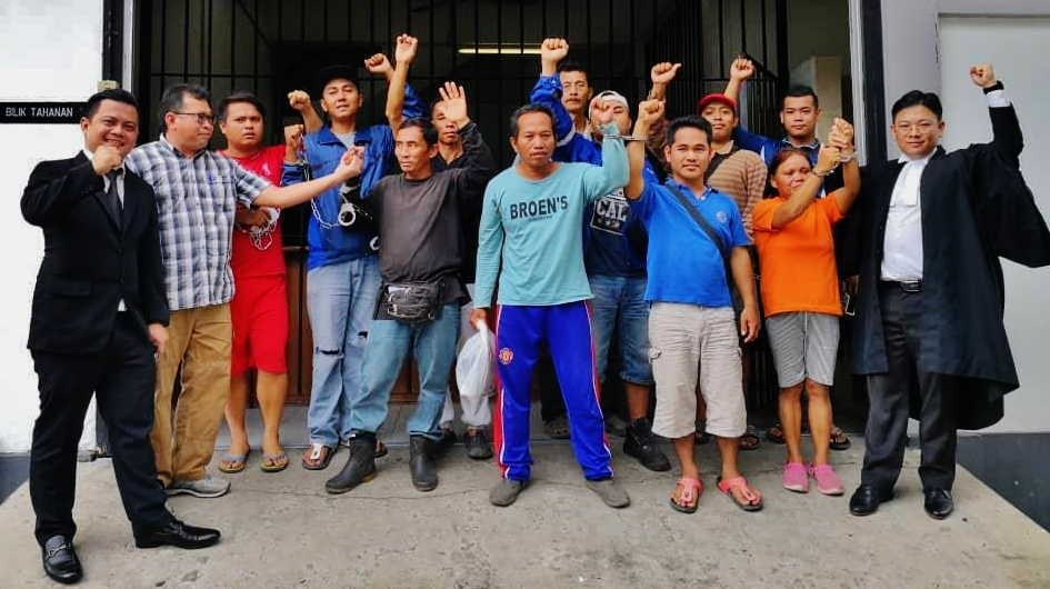 00002 Tatau Balingian Arrest